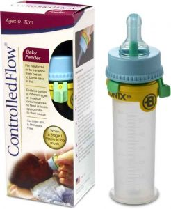 Controlled Flow Baby Feeder