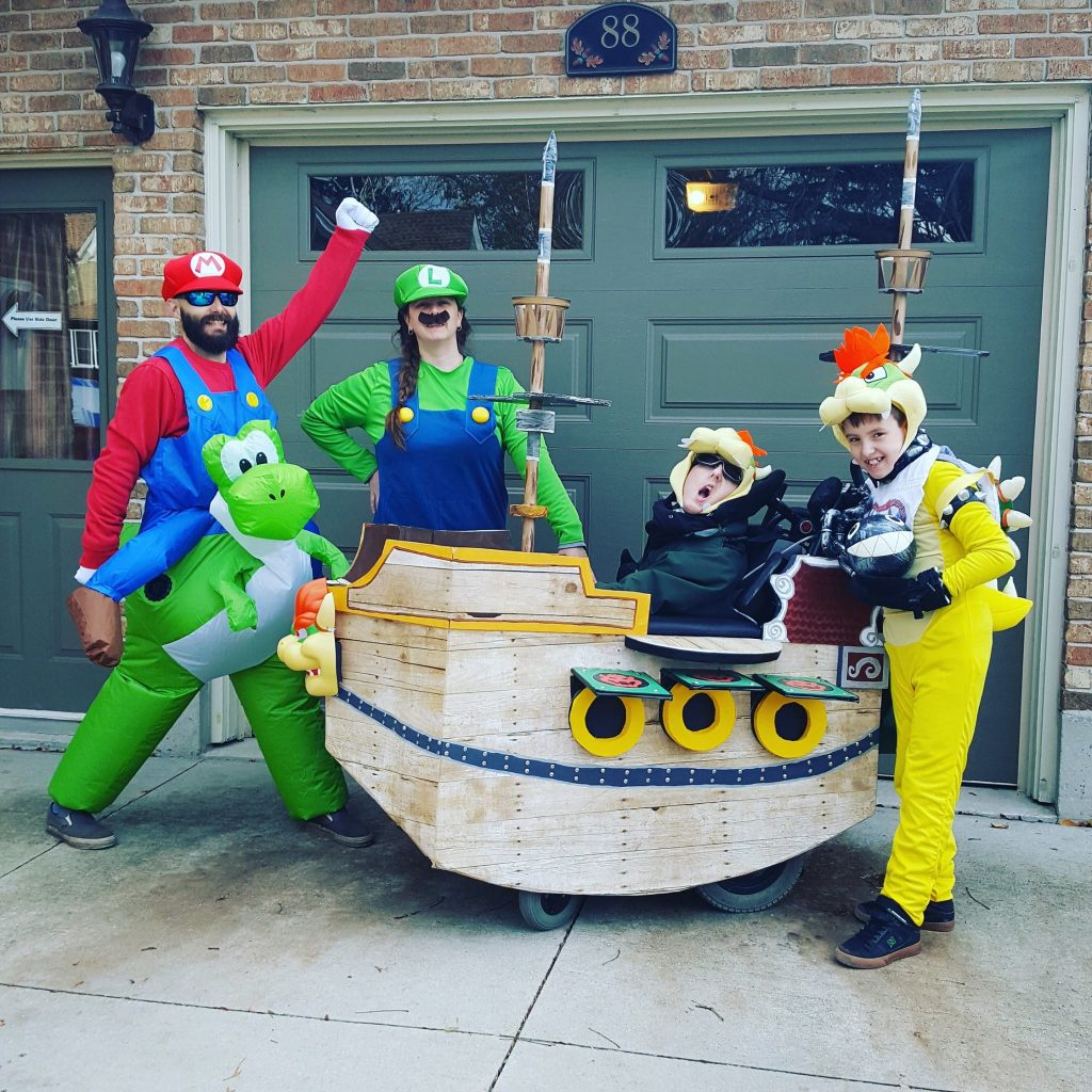 Congrats to Brandon, Tyler, and their parents for winning our 2017 Halloween Photo Contest!